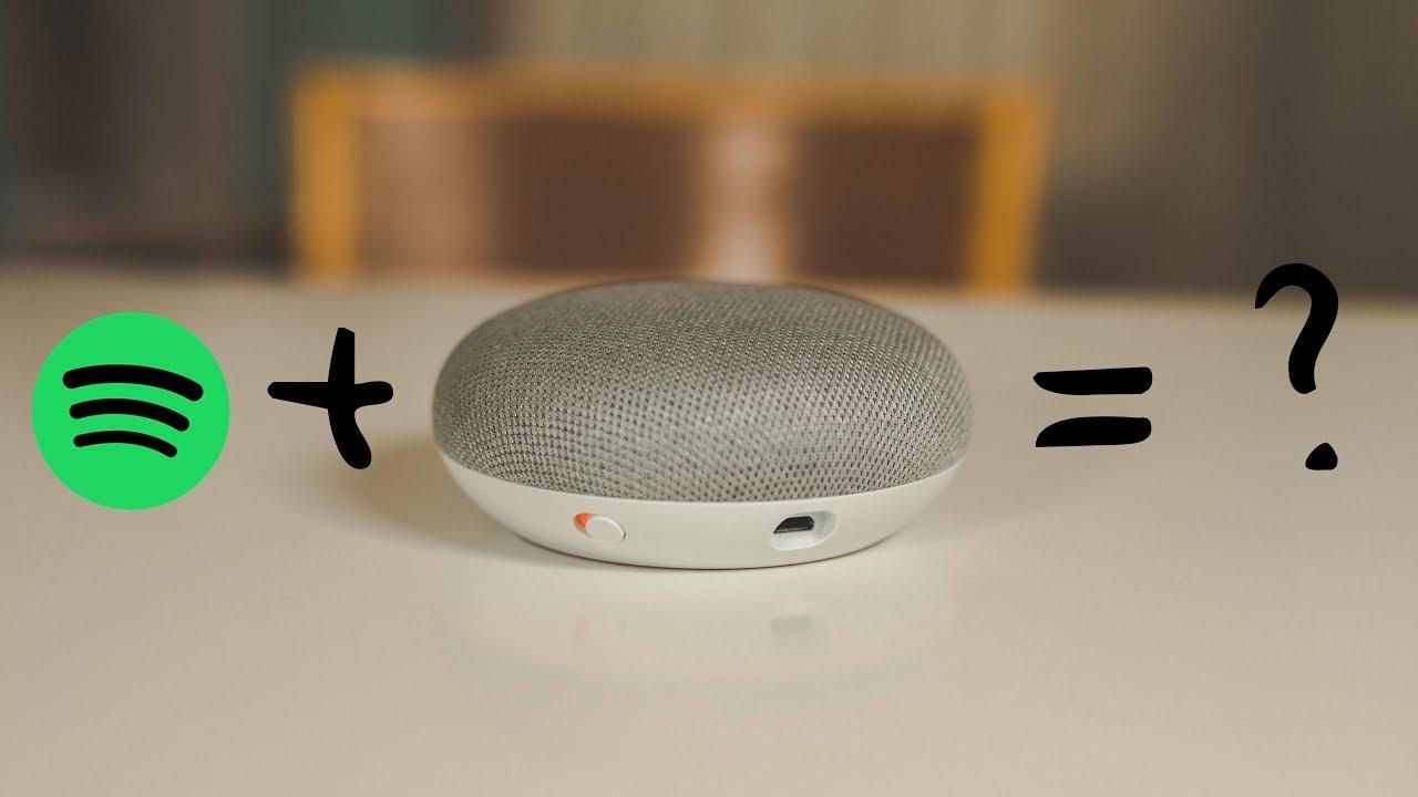 Spotify Free Google Mini