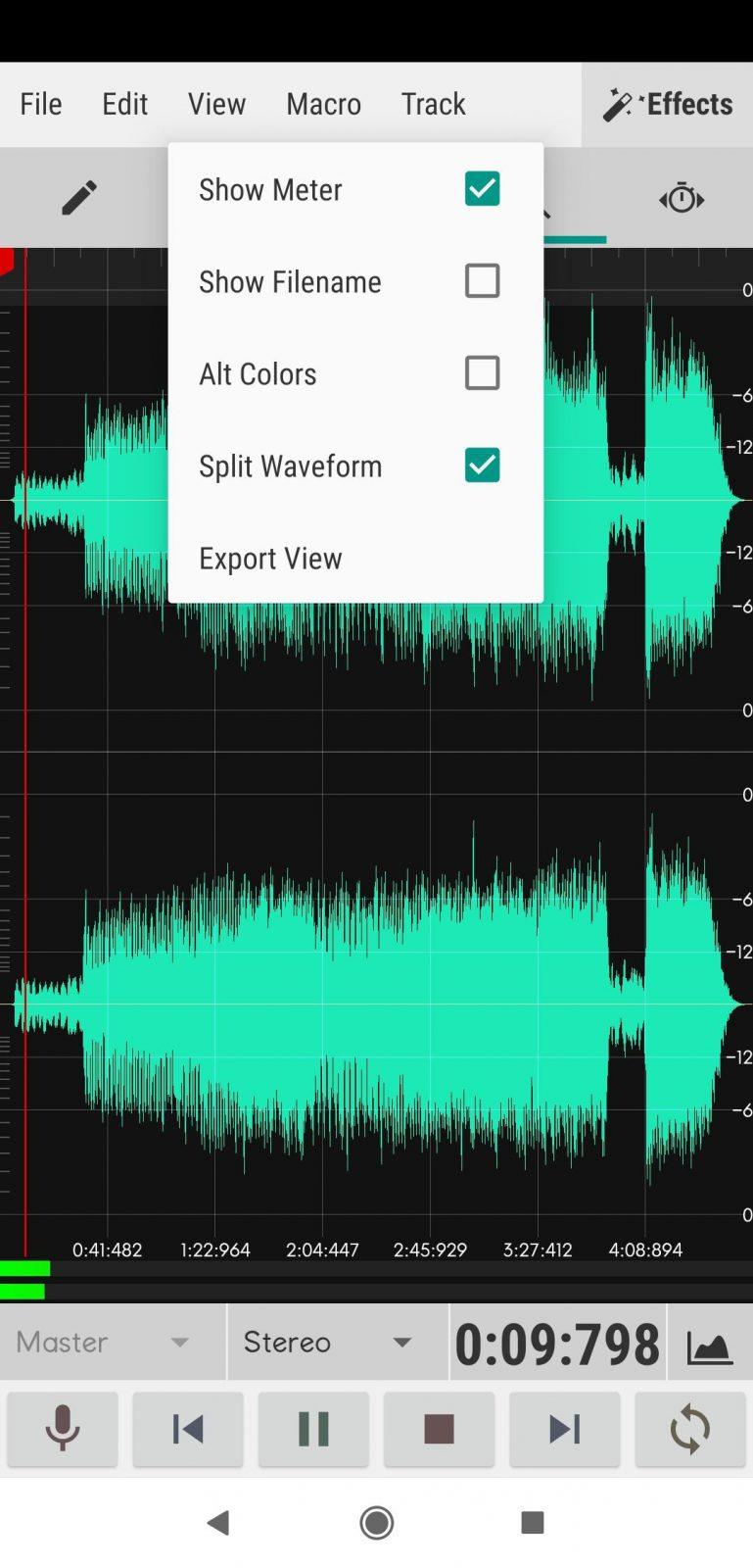 программы для обработки звука на айфон