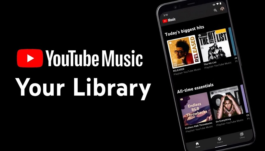 YouTube Music Library