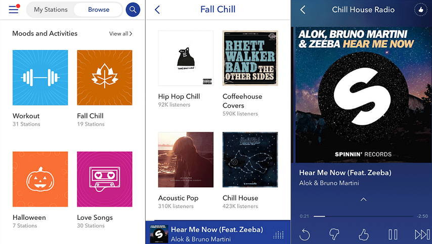 What is the best free music application for iPhone?