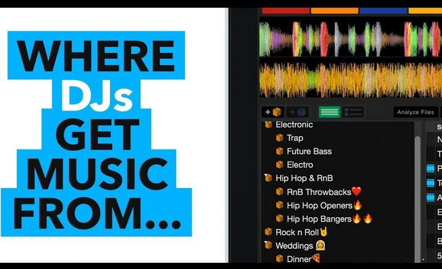 Where do DJs get music for free?