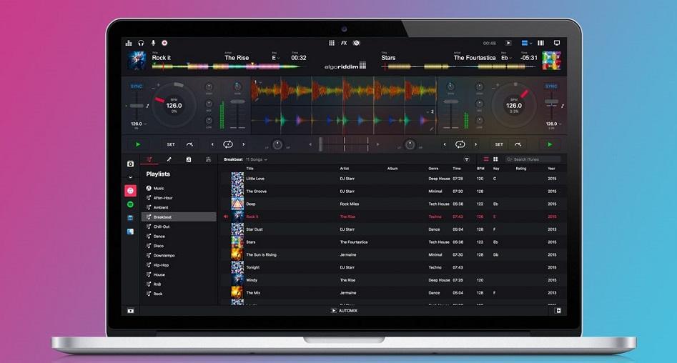 DJay Pro 2 export playlist