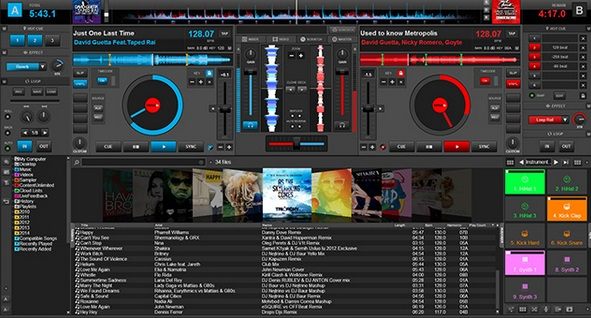 What free DJ applications work with Spotify?