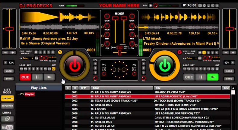 What is the best free DJ application?