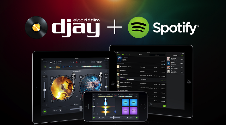 Is it illegal to use the Spotify app to DJ?